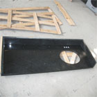 Black Quartz Vanity Tops