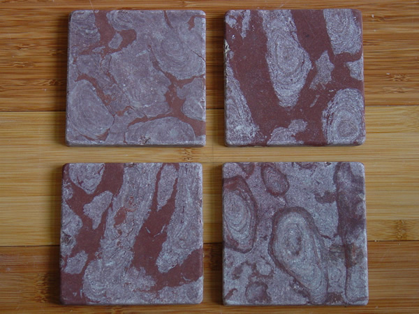 Brown Coral Tumbled Tile